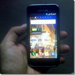 Samsung Galaxy S sachin khosla